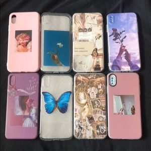 PACK OF 8 IPHONE XS MAX CASES ❤️🖤❤️🖤